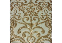 DAMASK SEQUINS FABRIC