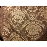 Chenille Imperial collection,  Home Decor Upholstery,Color Brown,  Sold By the Yard Copy