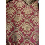 Chenille Imperial collection,  Home Decor Upholstery,Color Burgundy,  Sold By the Yard