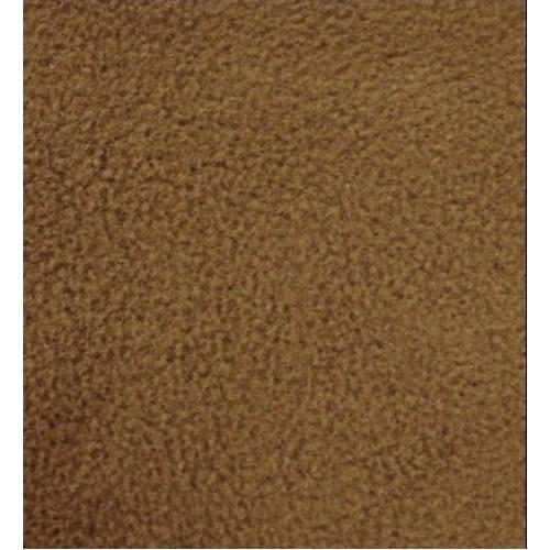 fleece fabric solid dark camel color 5860 - Camel Color