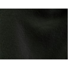 Fleece Fabric, Solid Black Color, 58/60