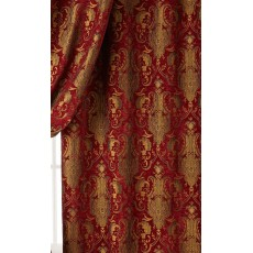 Chenille Renaissance Home Decor Upholstery,Color Burgundy,  Sold By the Yard